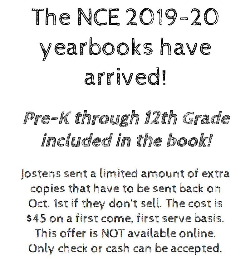 The 2019-2020 yearbooks are in.