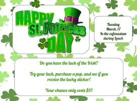 St. Patricks Day Fundraiser