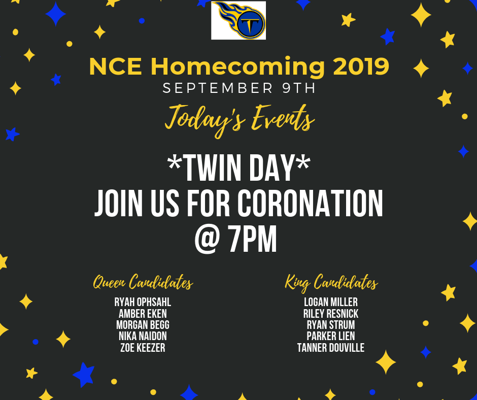 Monday Homecoming Events