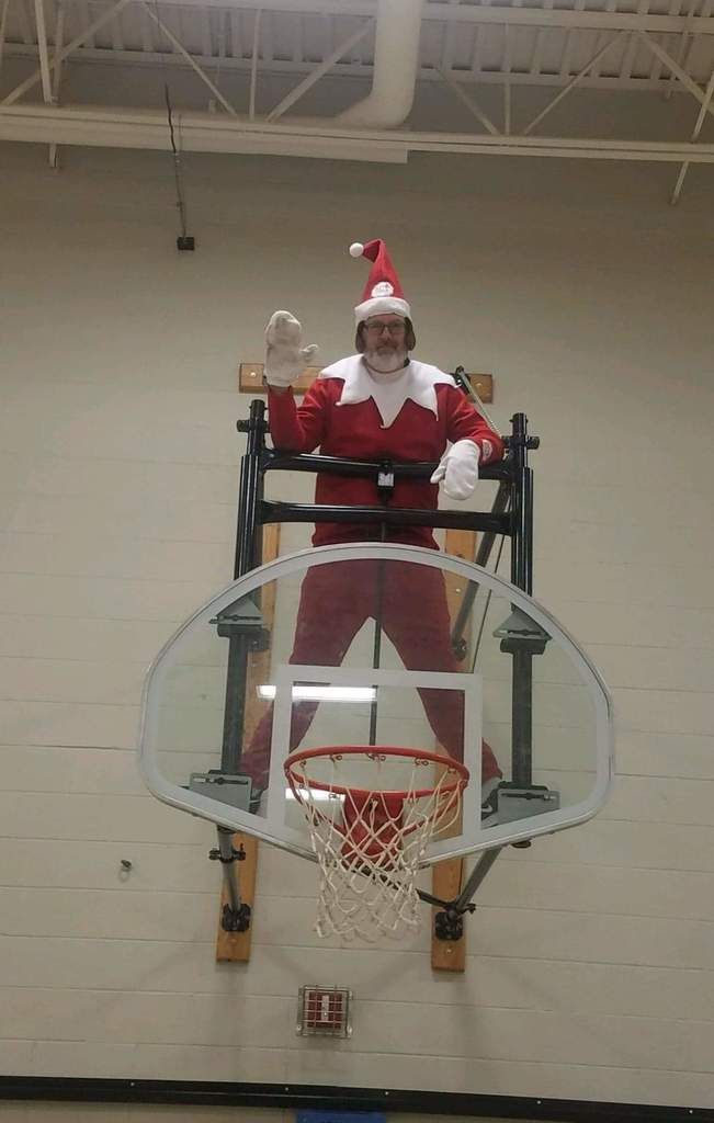 Until next time Norman the elf!!!