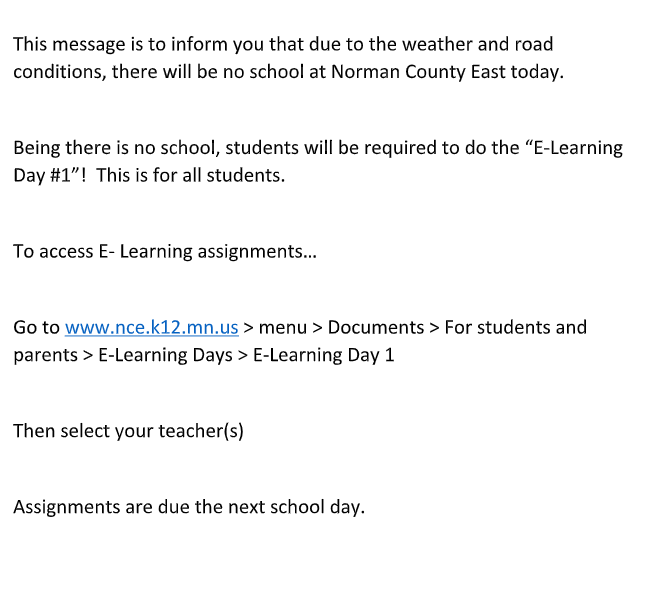 E-Learning Day Info